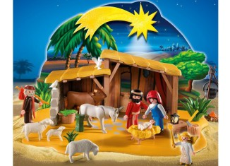 Playmobil - 4884 - Nativity Manger with Stable