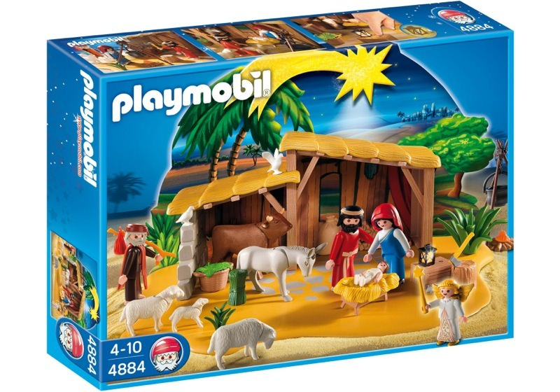 Playmobil 4884 - Nativity Manger with Stable - Box