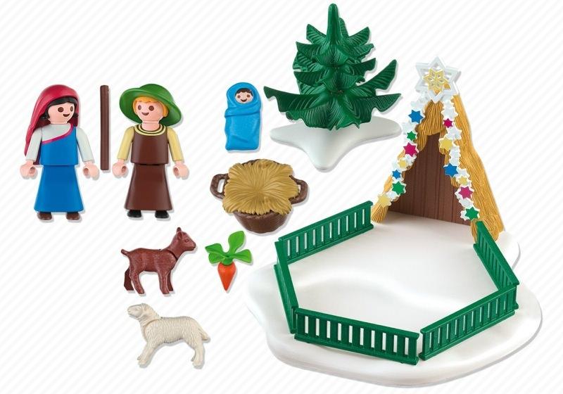 Playmobil 4885 - Nativity Scene - Back