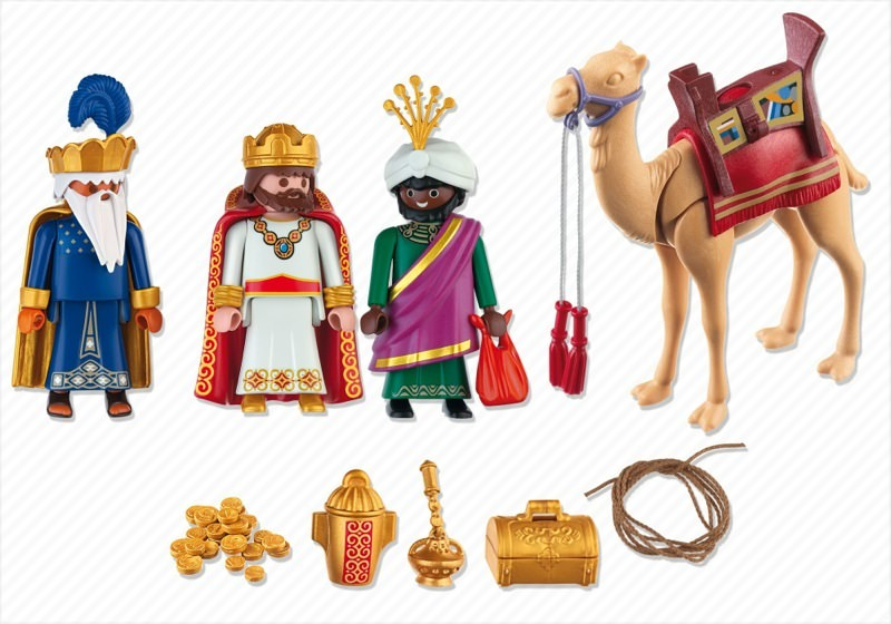 Playmobil 4886 - Three Wise Kings - Back