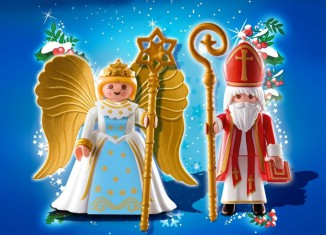 Playmobil - 4887 - Duo Pack Saint Nicholas and Angel