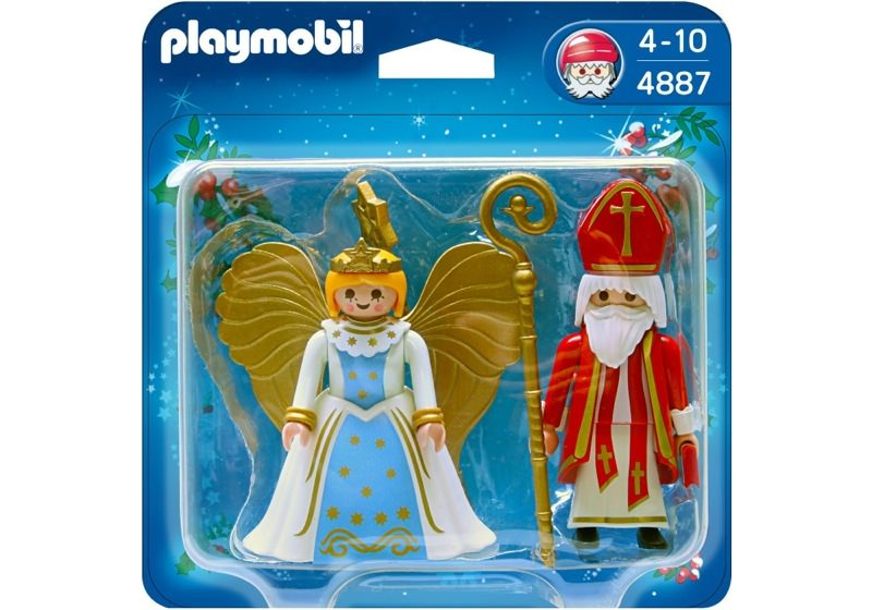 Playmobil 4887 - Duo Pack Saint Nicholas and Angel - Box