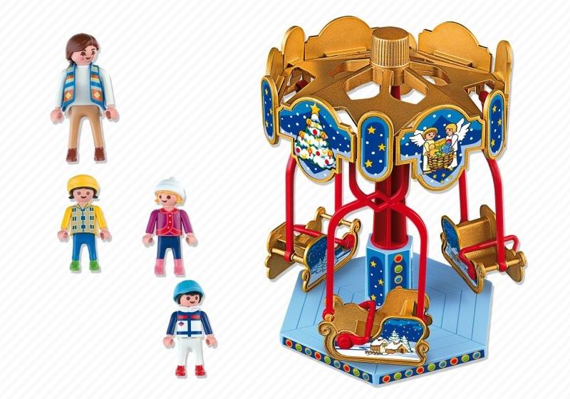 Playmobil 4888 - Sled Carousel - Back