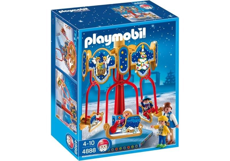Playmobil 4888 - Sled Carousel - Box