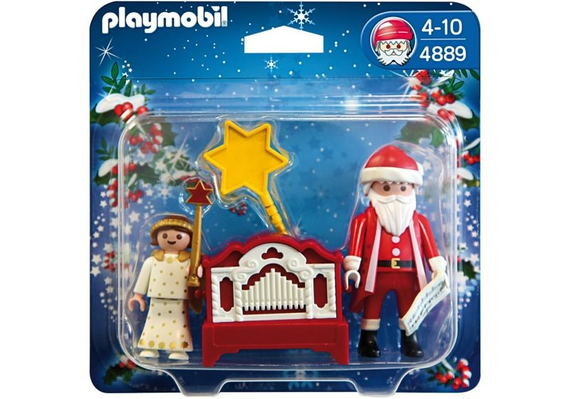 Playmobil 4889 - Little Angel and Santa Claus with Organ - Box