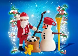Playmobil - 4890 - Santa Claus with Snowman