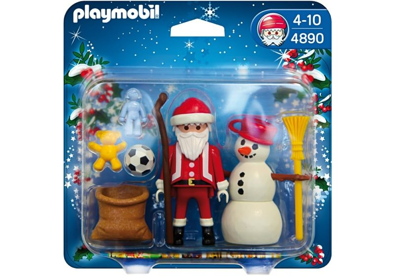 Playmobil 4890 - Duo Pack Santa Claus with Snowman - Box