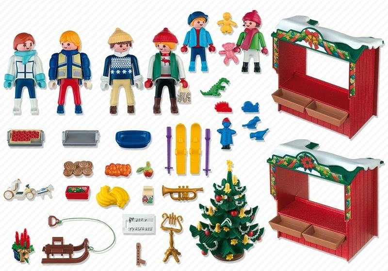 Playmobil 4891 - Christmas Market - Back