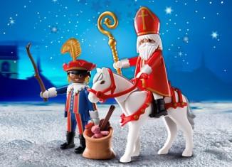 Playmobil - 4893-bel-net - Saint Nicholas and black Pete