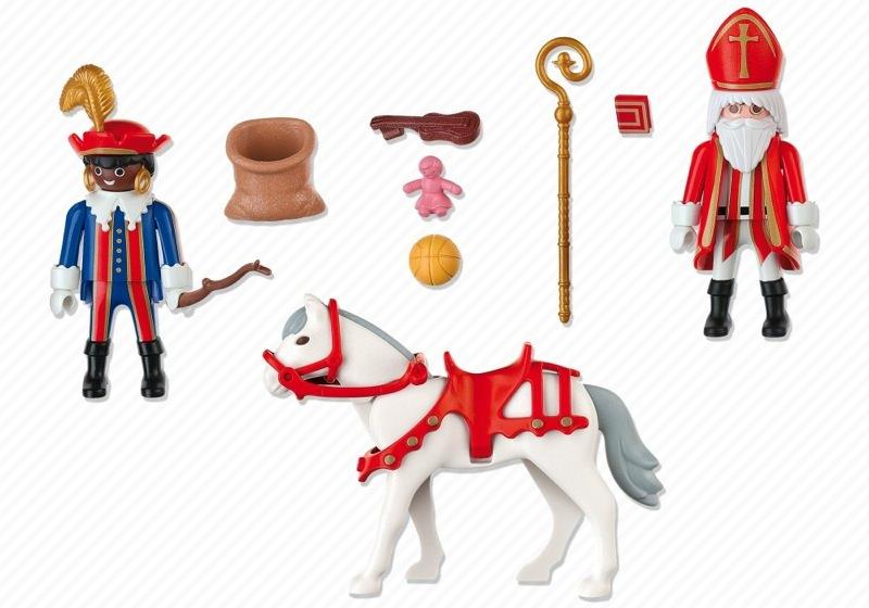 Playmobil 4893-bel-net - Saint Nicholas and black Pete - Back