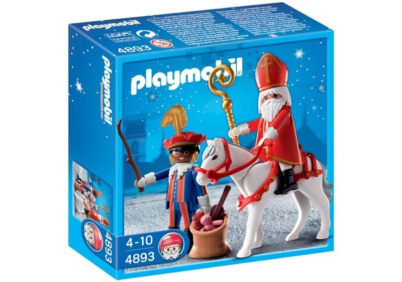 Playmobil 4893-bel-net - Nikolaus und Schwarzer Peter - Box