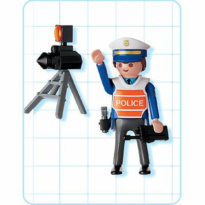Playmobil 4900 - Radar Control - Back