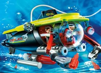 Playmobil - 4909 - Deep Sea Submarine with underwater motor
