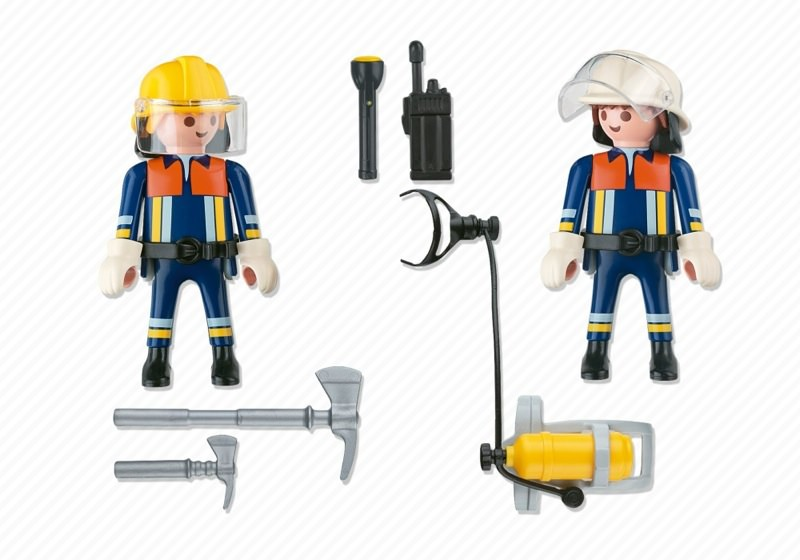 Playmobil 4914 - Fire Rescue Squad - Back