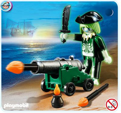 Playmobil - 4928 - Ghost Pirate with Cannon