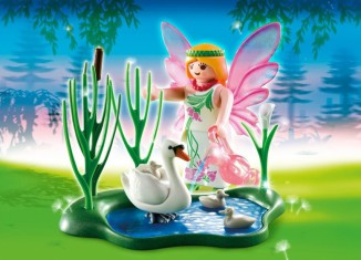 Playmobil - 4936 - Fairy with Swan Pond