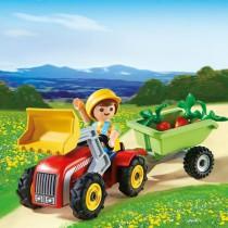 Playmobil - Niño con tractor (Huevo de Pascua Azul)