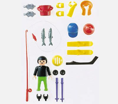 Playmobil 4998 - Multi-Sport Boy - Back