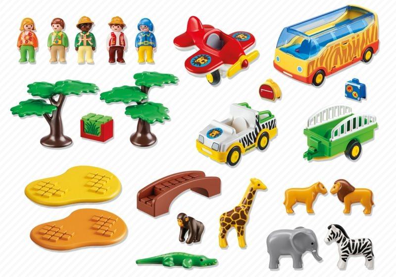 Playmobil 5047 - Große Afrika-Safari - Back