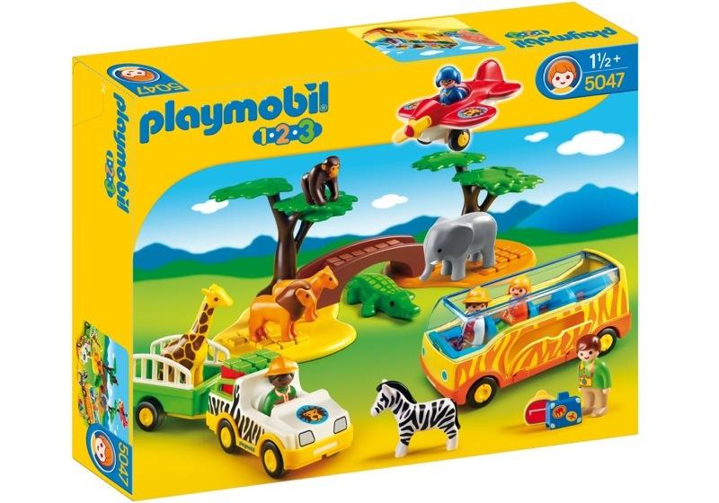 Playmobil 5047 - Große Afrika-Safari - Box