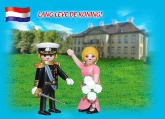 Playmobil - 5054-net - Duo Pack Dutch Royal Couple