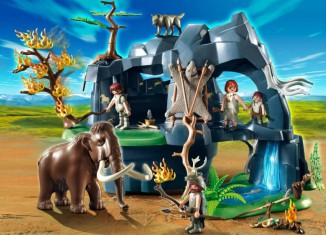 Playmobil - 5100 - Stone Age Cave with Mammoth