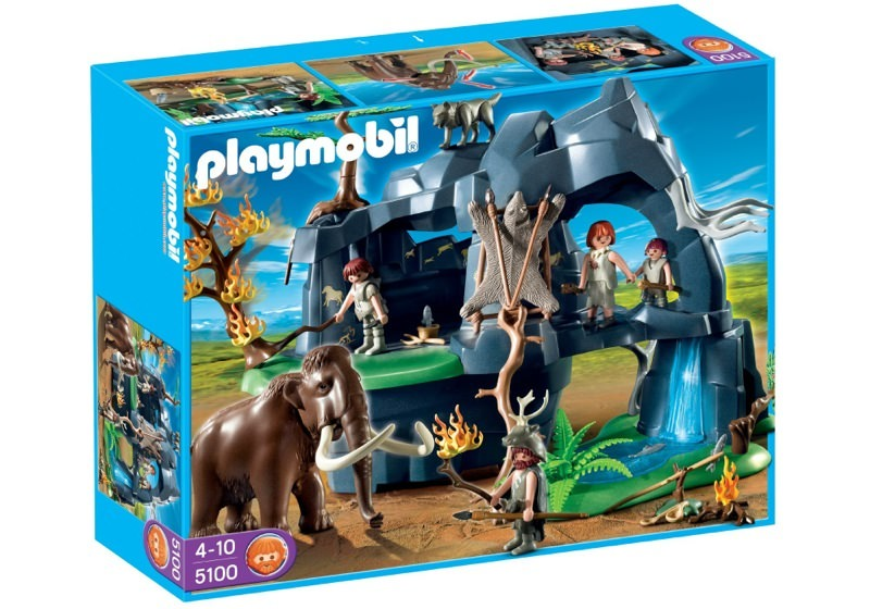 Playmobil 5100 - Stone Age Cave with Mammoth - Box