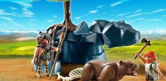 Playmobil - 5103 - Bear with Cavemen