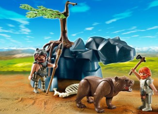 Playmobil - 5103 - Bear with Cavemen