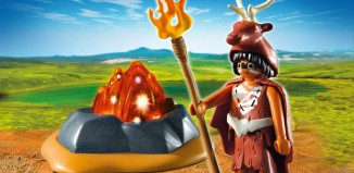 Playmobil - 5104 - Fire Guardian with LED Fire