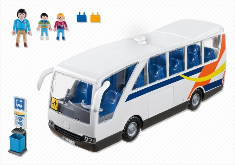 Playmobil 5106 - City Coach - Back