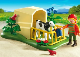 Playmobil - 5124 - Calf Shelter