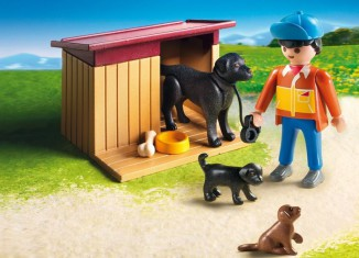 Playmobil - 5125 - Guard Dog with Puppies