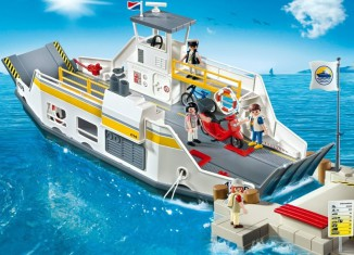 Playmobil - 5127 - Car Ferry with Passengers