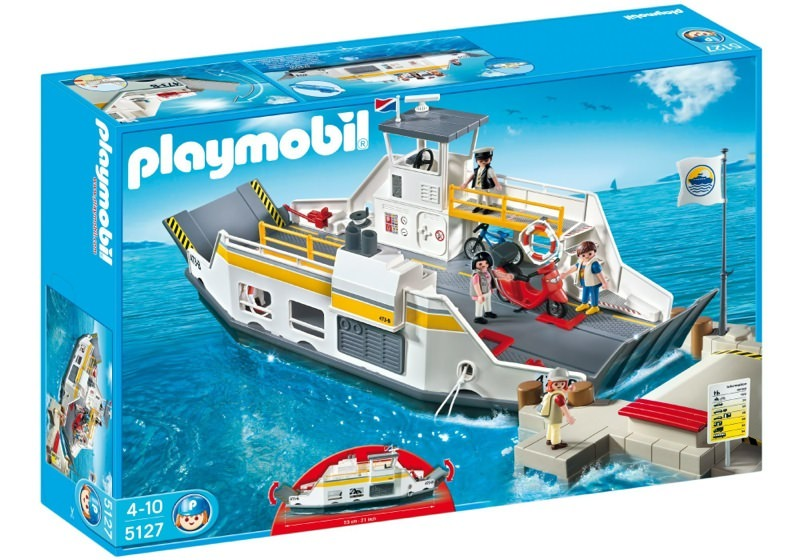Playmobil 5127 - Car Ferry with Passengers - Box