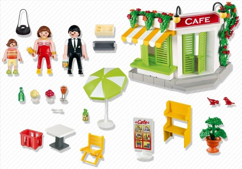 Playmobil 5129 - Harbour Café - Back