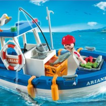 Playmobil - Un hermoso bote pesquero