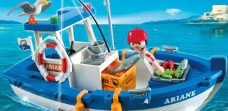 Playmobil - Un bote pesquero muy coqueto