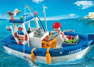 Playmobil - 5131 - Small Fishing Boat