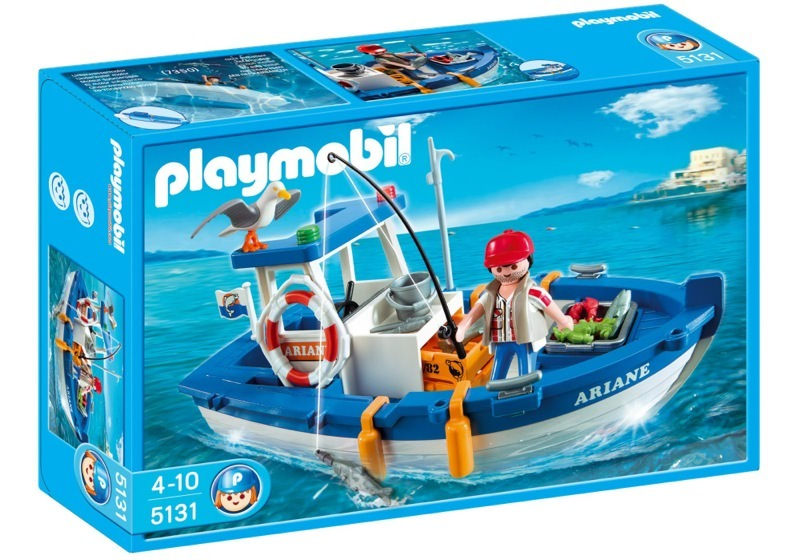 Playmobil 5131 - Small Fishing Boat - Box