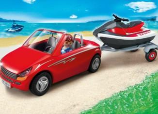 Playmobil - 5133 - Roadster with Jetski