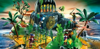 Playmobil - 5134 - Pirates adventure Island