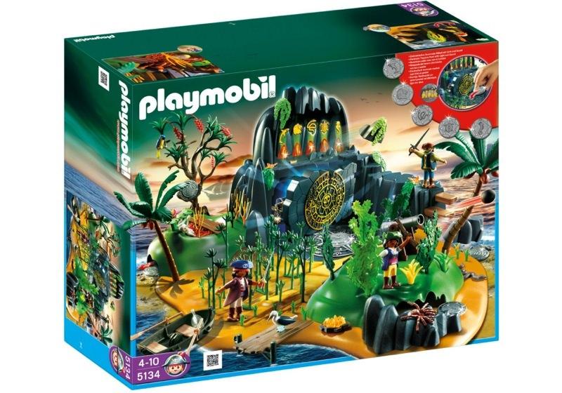 Playmobil 5134 - Pirates adventure Island - Box