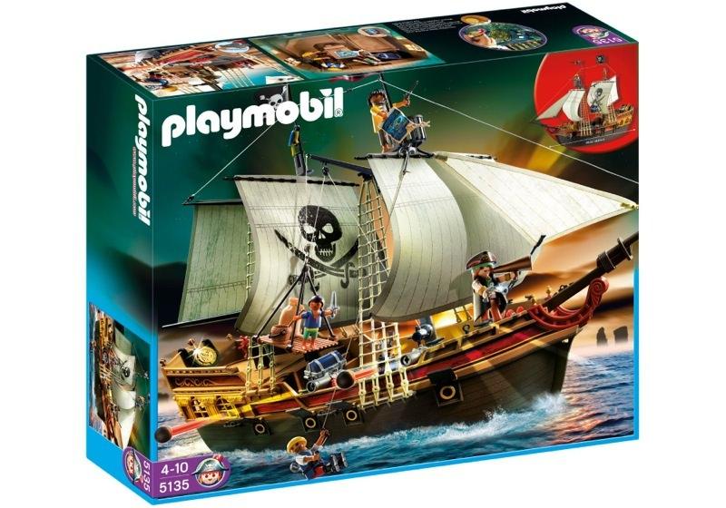 Playmobil 5135 - pirate prize ship - Box
