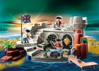 Playmobil - 5139 - Soldiers Fort with Dungeon