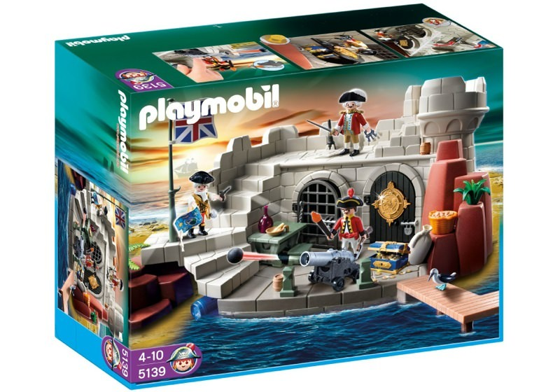 Playmobil 5139 - Soldiers Fort with Dungeon - Box