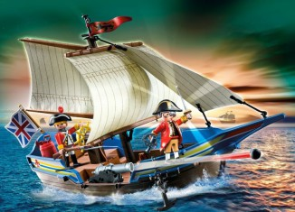 Playmobil - 5140 - redcoat cannonboat
