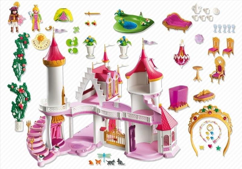 Playmobil 5142 - Princess Fantasy Castle - Back