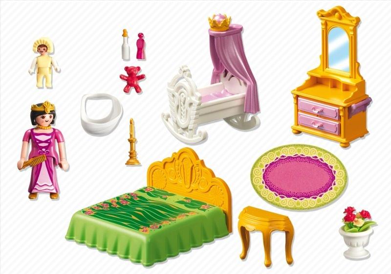 Playmobil 5146 - Royal Nursery - Back