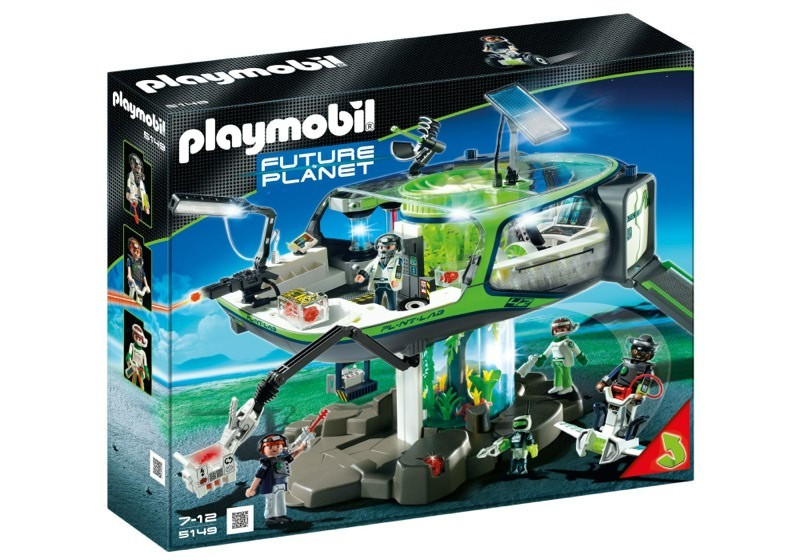 Playmobil 5149 - E-Rangers` Headquarters - Box